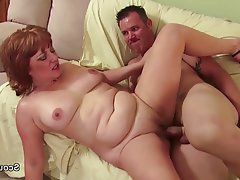 Mature, MILF, Old and Young, Redhead