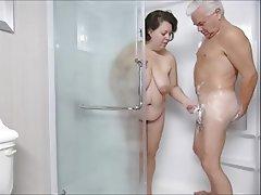 BBW, MILF, Shower