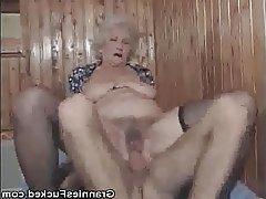 Granny, Hardcore, Lingerie, Mature