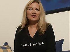 German, Blonde, Masturbation, Mature