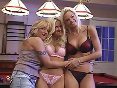 Lesbian, Blonde, Group Sex, Mature