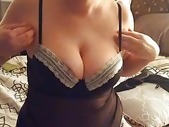 Masturbation, Mature, Lingerie