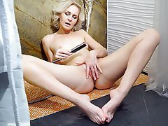 Masturbation, Shower, MILF, Russian