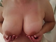 MILF, Big Nipples, Wife, Big Tits