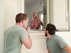 MILF, Shower, Boss, Blonde