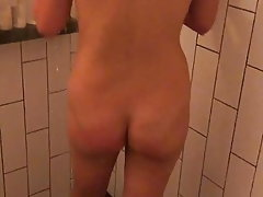 Amateur, Brunette, Shower, MILF