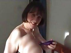 Masturbation, Mature, MILF, Stockings