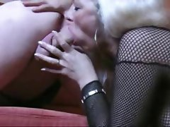 Ass Licking, Blowjob, Mature, Handjob