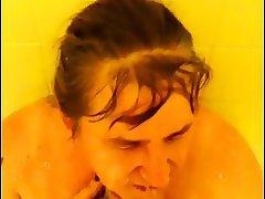 Amateur, Interracial, MILF, Shower