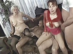 Amateur, Granny, Group Sex, Mature
