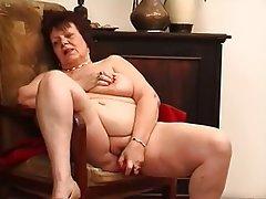 BBW, Big Boobs, Brunette, Masturbation