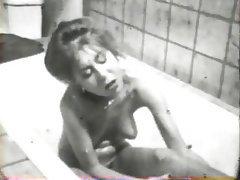 Hairy, Lesbian, MILF, Shower