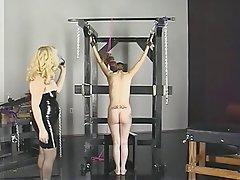 BDSM, Blonde, Brunette, Latex