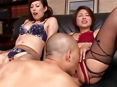Asian, Stockings, Japanese, Mature