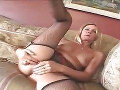 Anal, Blonde, Masturbation, Mature