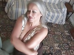 Granny, Masturbation, Mature, Softcore